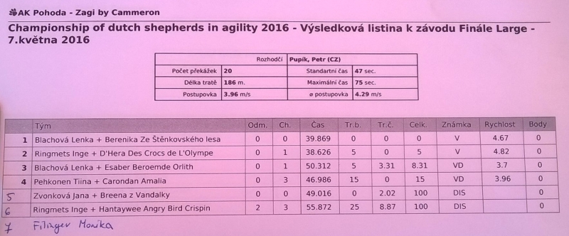 Results agility