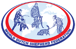 World Dutch Shepherd Federation Retina Logo